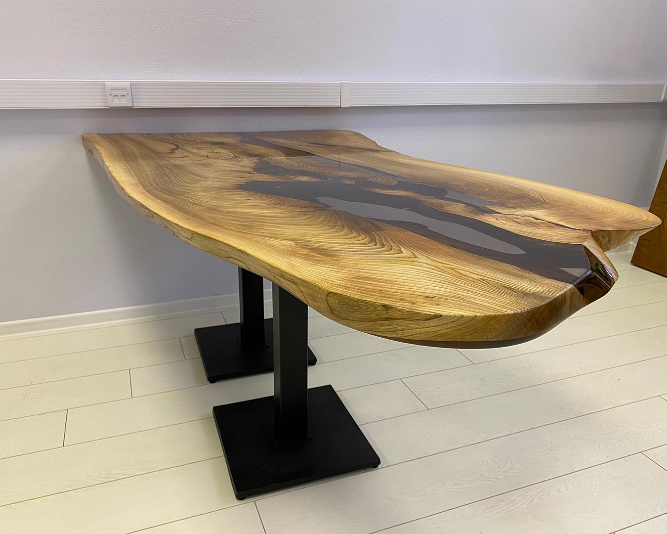 Барная стойка-стол из горного карагача